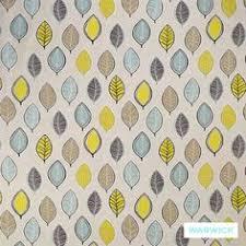 Upholstery Fabric Hawaii Modern Orange Aqua Upholstery Fabric With By Popdecorfabrics