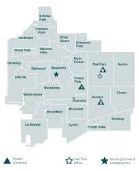 Oak Park Illinois Map by Get Help Housing Forward