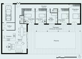 plan maison plain pied en l 4 chambres plan maison plein pied plan de maison plain pied 3 chambres