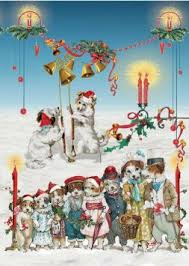guide dogs for the blind christmas cards christmas lights card