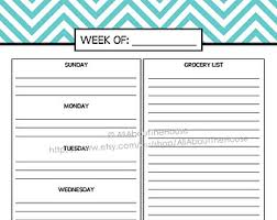 printable planner diary half size printable planner daily planner weekly planner