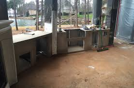 charlotte area outdoor kitchen island contruction charlotte