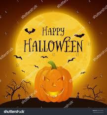 happy halloween banner happy halloween banner pumkin vector eps10 stock vector 318137360