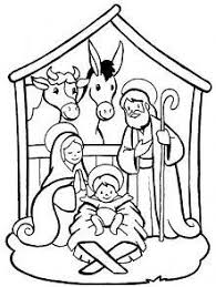 jesus in the manger coloring page 16 best disegni natività images on pinterest christmas ideas