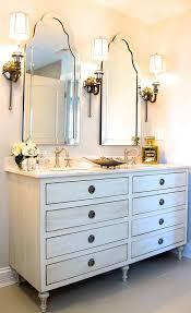 Restoration Hardware Maison Double Vanity Sink In Antiqued White - Bathroom vanities with tops restoration hardware