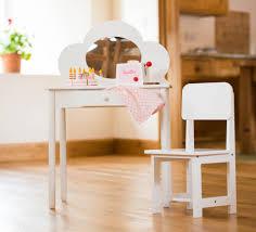 Wooden Girls Vanity Childrens Vanity Table Home Vanity Decoration