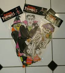 vintage jointed halloween decorations dracula skeleton and witch