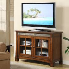 riverside craftsman home 45 in tv console tall 44 56 in