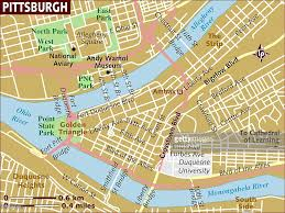 Amtrak Map Usa by Map Of Pittsburgh Stock Illustration Getty Images