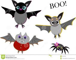 mix of cute bats and spider royalty free stock images image