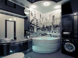 Man Cave Bathroom Decorating Ideas Young Man Bathroom Design For Small Apartment And Best Lighting