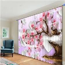 Pink Flower Curtains Highest Price 3d Floral Curtain U0026 Flower Curtains Shopping