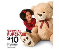 target deal of black friday 36 inch giant bear deal at target black friday sale