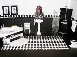 desain kamar mandi warna hitam putih contoh desain kamar mandi hitam dan putih rumah minimalis