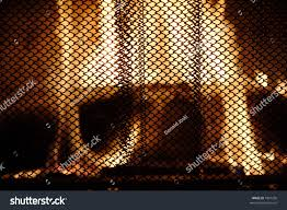 fireplace mesh curtain binhminh decoration