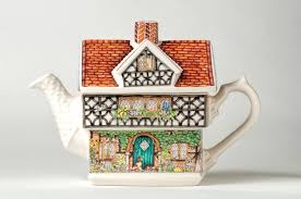 style house china tudor house teapot stock photo image of china tudor ceramics 39062016