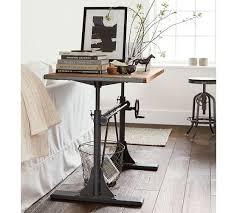 west elm standing desk industrial standing desk desk