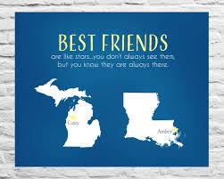 best friends are like stars long distance best friend