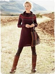 fair isle sweater dress warmers bumping hanger