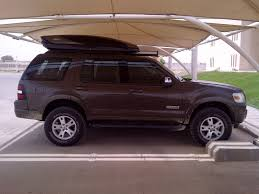 2009 Ford Explorer Lifting 4th Gen With Truxxx Leveling Kit Rancho Quicklift Ford