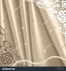 Old Fashioned Lace Curtains by Vintage Lace Background Ornamental Flowers Invitation Stock Vector