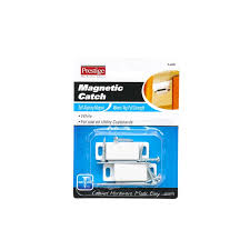 prestige 4kg white magnetic cupboard catches 2 pack bunnings