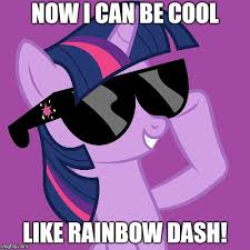 20 Cooler Meme - 20 cooler twilight sparkle imgflip