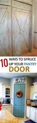 10 ways to spruce up your pantry door pantry doors and kitchens