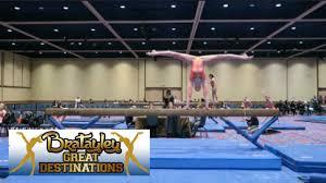 bratayley great destinations gymnastics meet level 8 itzamanda