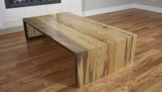waterfall coffee table wood coffee table pull out top vetrochicago