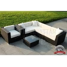 patio sectional sofa outdoor wicker sectional sofa 6 piece set b
