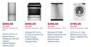 best appliance deals black friday best buy deals are starting what can we expect canada