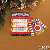 Ugly Christmas Sweater Party Decoration Ideas by Ugly Christmas Sweaters Accessories U0026 Ideas Oriental Trading