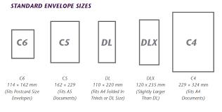 Envelopes Size C5 Envelope Size Resumess Franklinfire Co