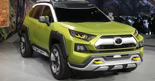 suv toyota toyota offroad suv concept has removable lights
