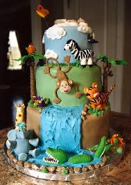 jungle baby shower cakes jungle baby shower cake cakecentral