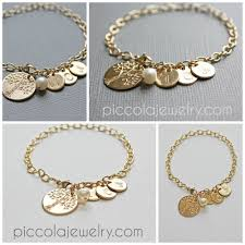 bracelet with initials gold personalized bracelet with letters initials charms