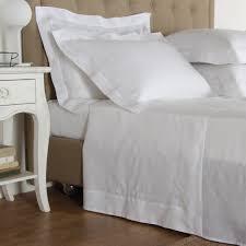 purity doppio ajour linen sheet set frette