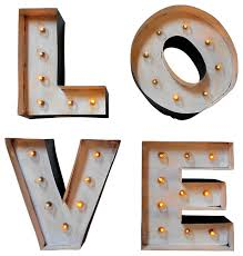 Decorative Letter Blocks For Home Light Up Marquee Block Letters