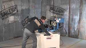 baileigh industrial bs 350m manual bandsaw band saw youtube