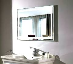 Lighted Mirrors For Bathrooms Backlit Bathroom Mirror 8libre