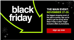 target black friday offer target black friday mailing list sign up now