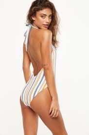 Flag One Piece Swimsuit Womens Swimwear Bikinis One Piece U0026 More Cotton On