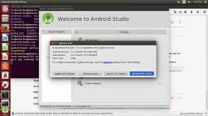 android studio linux android studio installation and configuration for linux learn