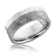 meteorite mens wedding band meteorite wedding bands