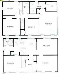 floor plans for 4 bedroom homes best 4 bedroom house plans 4 bedroom house floor plans and this feet