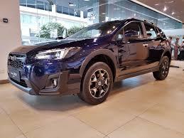 subaru xv blue subaru xv malaysia launch 2017 dark blue pearl 2 0i p autoworld