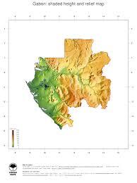 gabon in world map map gabon ginkgomaps continent africa region gabon
