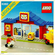 Lego Office Lego Post Office Instructions 6362 City