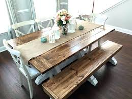 diy dining table bench diy bench for kitchen table gallery table decoration ideas